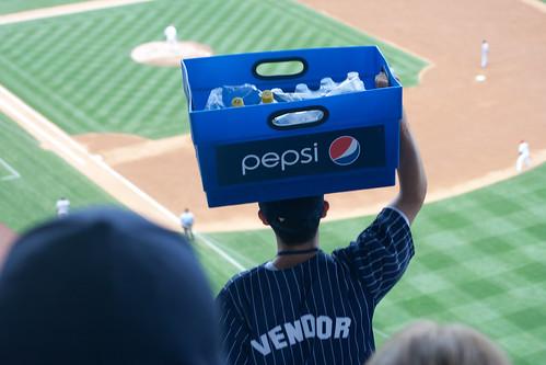 Yankee Stadium Sells Pepsi