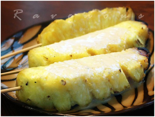 grilled pinapples