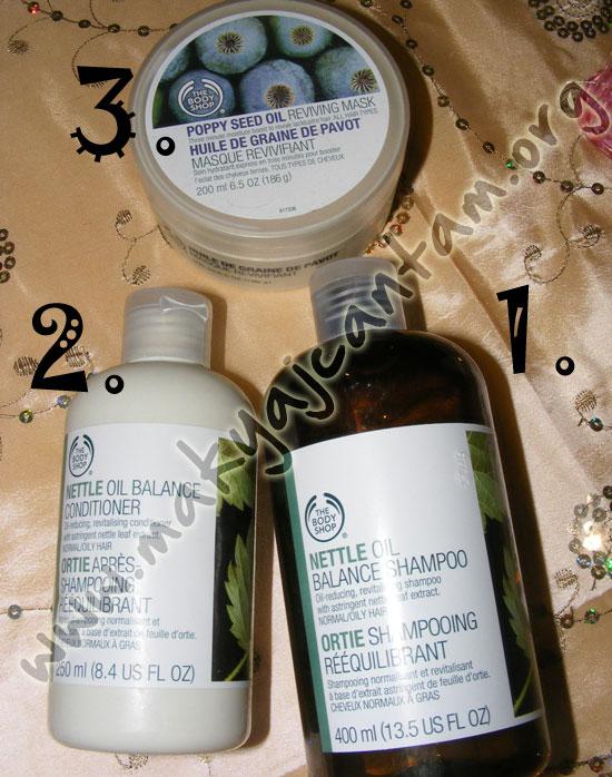 body shop sac bakimi sac bakim urunleri nasil sac bakilir makyaj kozmetik blogu