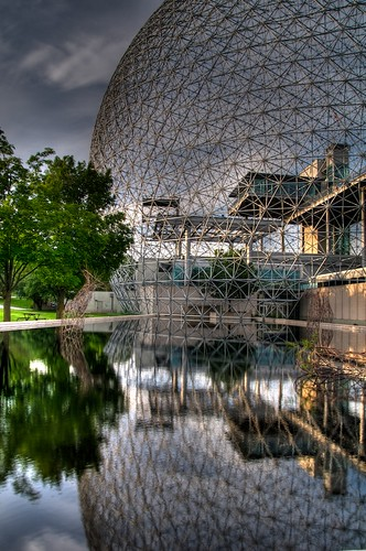 The Biosphere / Former US pavillion from Expo '67 in Montreal (HDR)
