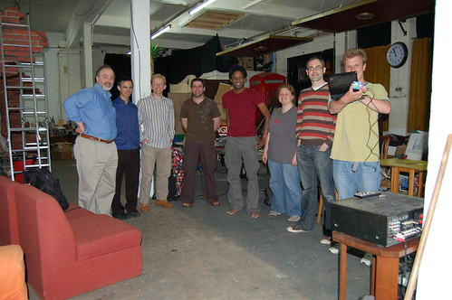 Group Photo With Newly Constructed Remote