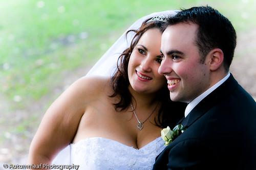 Pamela & Adam's Wedding - The lovely couple