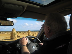 Driving through the Pinnacles