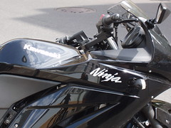 Kawasaki Ninja (PercyGermany) Tags: black bike ninja kawasaki kawasakininja percygermany