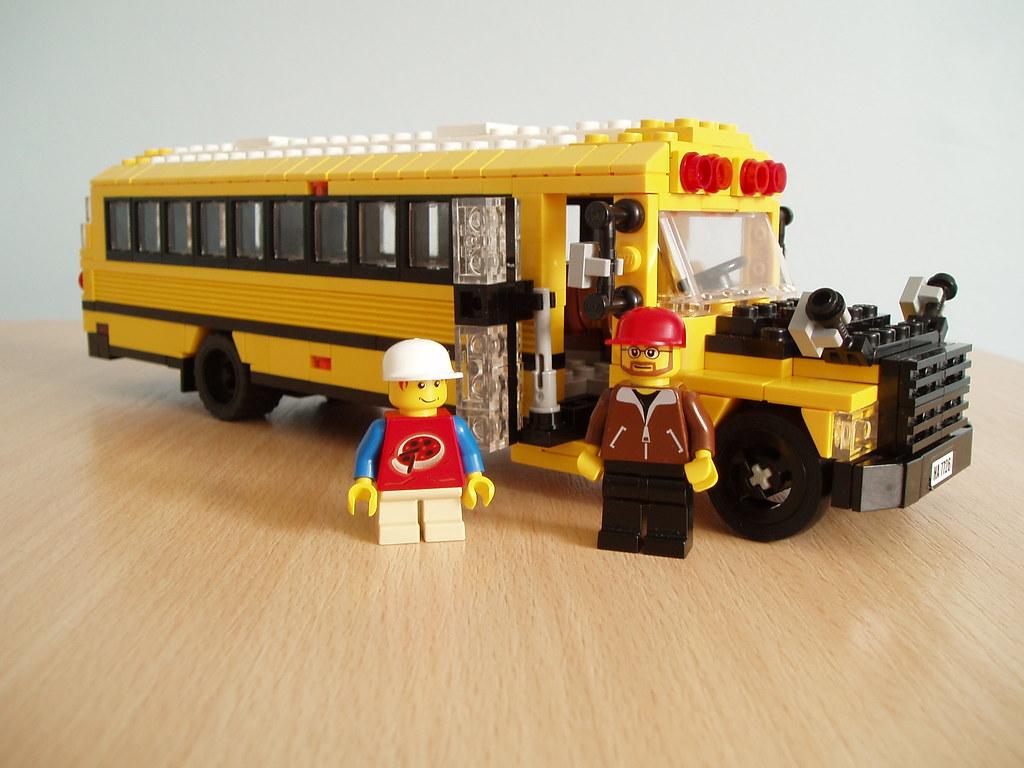 American School bus (2)