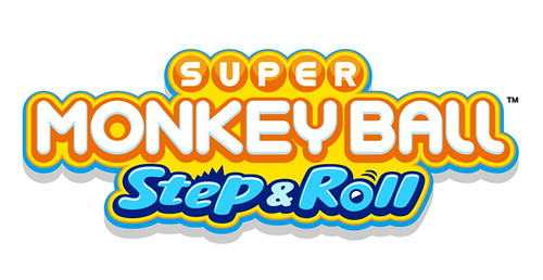 Super Monkey Ball Step & Roll logo