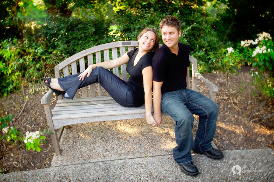 Fort Worth Botanic Garden Engagement