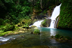 How great is our God? (mermiller) Tags: waterfall moss paradise god jamaica naturalspring ysfalls