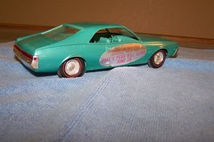 1968 AMC Javelin Pikes Peak Hill Climb Pace Car Promo Model (coconv) Tags: cars scale car vintage for climb promo model sale hill peak plastic 124 sample pikes pace kit 1968 pacecar collectible amc promotional dealership johan mpc 125 amt smp javelin hubley revell pikepeak banthrico