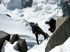 climbers (Andy dot Moore) Tags: mountains climbers aiguilledumidi europeanadventure