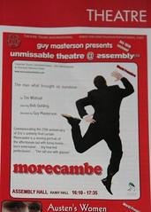 Morecambe at Edinburgh Festival Fringe 2009 promo