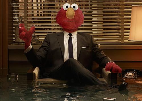 Elmo Draper - 'Sesame Street' meets 'Mad Men'