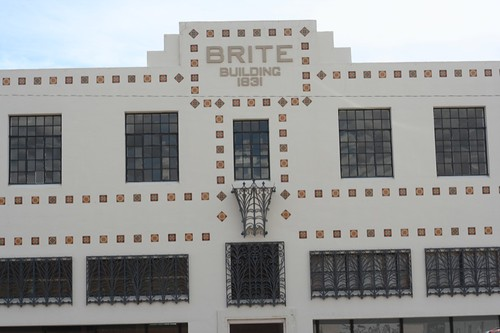 brite building in marfa