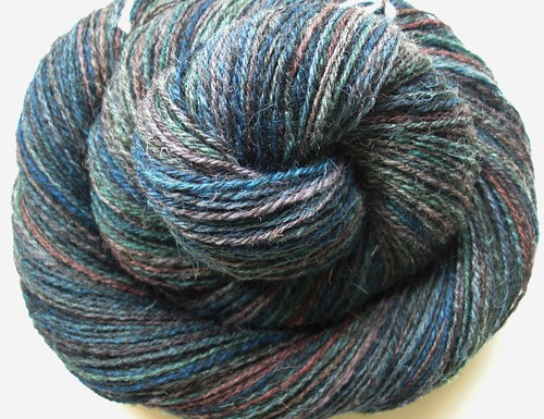 3. Jacob Humbug skein-navajo plied- ~348yds-3.5oz-3