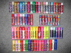 Lip Smackers Collection (pr0digie) Tags: collection lip gloss balm flavored chapstick smackers