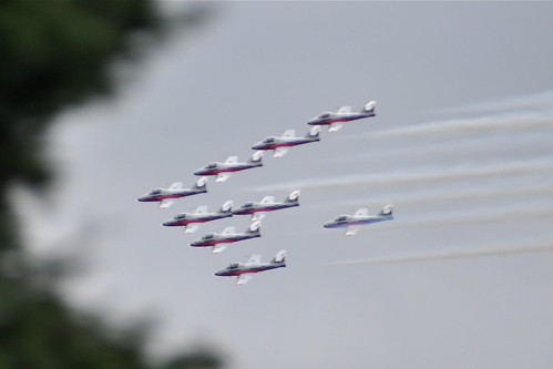Snowbirds over Metrotown 5