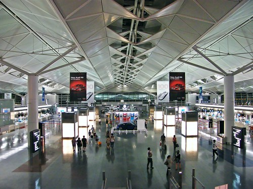 Chubu International Airport - View from Level 4