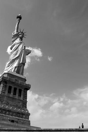 Statua della libertà, New York, Agosto 2009