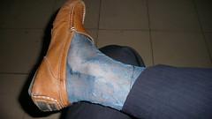 P1020870 (EsquireForum) Tags: man men socks chinese oldfashion sheer loafer