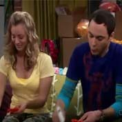 The Big bang Sheldon e Penny