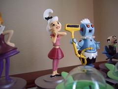 Hanna Barbera Mini Museum: My House; Flintstones vs. Jetsons chess set (slappy427) Tags: chess jonnyquest disney spaceghost scoobydoo 1970s flintstones jetsons muttley yogibear bettyrubble huckleberryhound fredflintstone barneyrubble hannabarbera johnnyquest topcat saturdaymorningcartoons wilmaflintstone snagglepuss 1960s quickdrawmcgraw laffalympics pebblesandbammbamm dinoflintstone