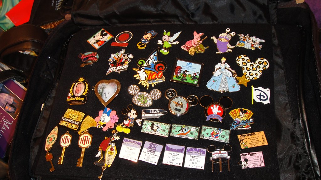 Pin Collection, page 1