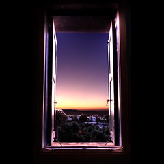 what light through yonder window breaks? : 226/365 (helen sotiriadis) Tags: morning light black window sunrise canon turkey greece 365 chios canonefs1022mmf3545usm canoneos40d  toomanytribbles