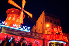 It's That Red Windmill Again (Allard One) Tags: longexposure paris france night french dance nikon neon nightshot dancing vivid montmartre nightclub entertainment musical cancan frankrijk cabaret moulinrouge 2009 redlightdistrict parijs francais revue facsimile nachtclub pastmidnight cityoflight colourpop 1755mmf28 boulevarddeclichy nikkor1755 tripodused d80 nikkor1755mmf28 voetjesvandevloer redwindmill ilovethenightlife nikond80 allardone allard1 populartouristdestination rodemolen lorettemartyrs 120ans 18892009 theonewiththeredmillandthe3chaps dewiekendraaienweerom allardschagercom