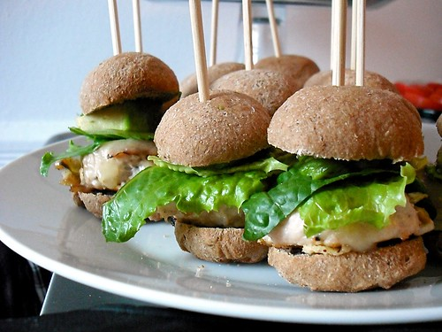 Mini Turkey Burgers