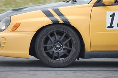 If this were a scratch-and-sniff, it would smell like burning brakes. (*Your Pal Marnie) Tags: ny car race racing romulus solo autocross autox scca flr sead senecaarmydepot