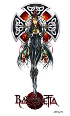 Bayonetta Contest - Please Vote!!! (jamietyndall) Tags: xbox360 videogames sega playstation ps3 wizarduniverse bayonetta jamietyndall