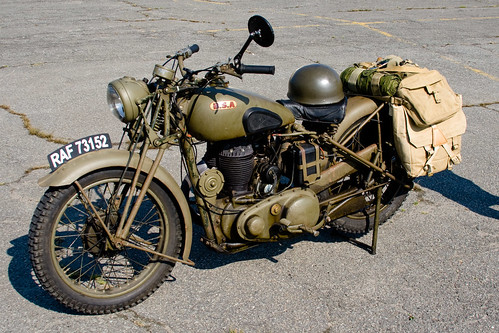 British Allied Motorcycles With Sidecars
