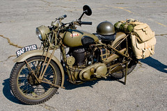 CD272 BSA M20 Motorcycle (listentoreason) Tags: history canon newjersey airport military wwii favorites engineering mercer motorbike worldwarii transportation motorcycle ewing trenton bsa militaryhistory m20 civilengineering ttn motorvehicle score35 ef28135mmf3556isusm militarytheater bsam20 birminghamsmallarmscompany trentonmercerairport kttn
