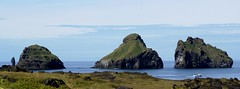 Three Small Islands (little_frank) Tags: smaeyjar heimaey vestmannaeyjar iceland europe cliff archipelago coast sea ocean stack rock breathless breathtaking primordial impressive peaceful stunning great wall nature natural unspoiled pure view panorama landscape waterscape water scape fabulous irreal special fantasy fantastic silent place surreal wild wilderness immensity vastness horizon dream dramatic atlantic north northern nordic legend legendary islanda sland islandia islande island sky cloud cloudy summer volcanic foam waves light vertical beach theunforgettablepictures platinumphoto ultimateshot abigfave scenery beautiful wonderful rocky wonder