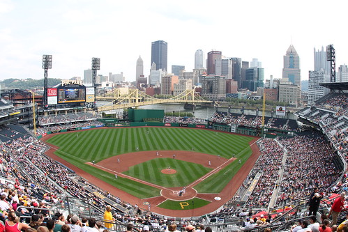PNC Park, Home of Pittsburgh Pirates by daveynin.