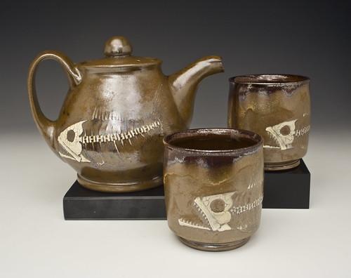 Bruce Gholson Bulldog Pottery