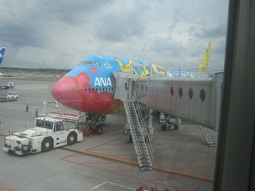 I totally got to fly on one of these.
