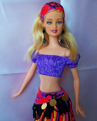barbie  teresa  gypsy  girl (napudollworld) Tags: girls halloween fashion witch ghost barbie scene characters fever