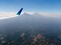 Mount Merbabu and Mount Merapi