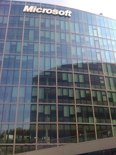 Visite des nouveaux locaux de Microsoft France
