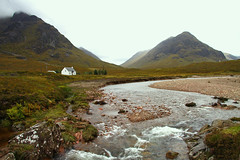 River Coupall - Glen Coe (Ian Lambert) Tags: autumn mist mountains scotland highlands heather scottish glen glencoe loch etive a82 argyllbute rivercoupall theunforgettablepictures
