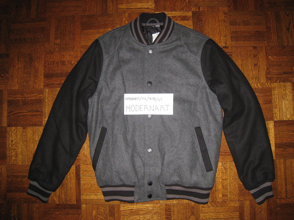 H&m Wool Varsity Jacket $100