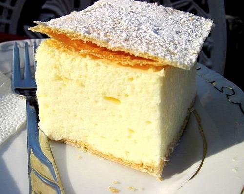 Kremes (Vanilla Cream Pie)