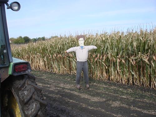 Edward Cullen scarecrow