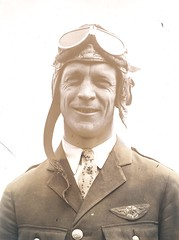 Photograph of airmail pilot Harry A. Chandler (Smithsonian Institution) Tags: portrait man smile sepia newjersey wings uniform crash aviation goggles tie cap chandler aviator pilot airmail 1924 smithsonianinstitution aeronautic usmail smilelines nationalpostalmuseum usairmail harrychandler airmailpilot harryaugustchandler harryachandler hachandler