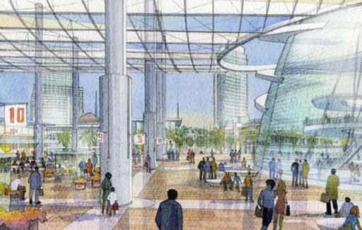 Multimodal Station and T.O.D. Village