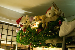 Family Christmas (Aen Tan) Tags: christmas xmas tree leaves toy harrods plush deco teddybears rilakkuma korilakkuma