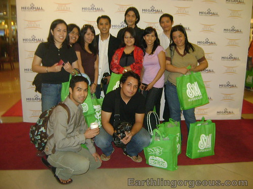 Bloggers at the Mega Atrium Launch