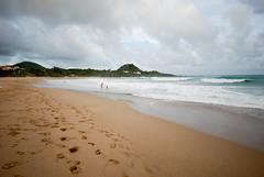 Kenting Beach Footprints