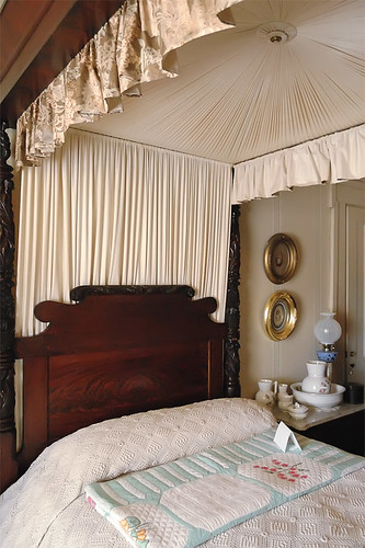 Chatillon - DeMenil House, in Saint Louis, Missouri, USA -  man's bedroom